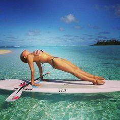Charlotte Piho We Salute You. | 23 Steps To Becoming A Stand Up Paddleboard Yoga Goddess