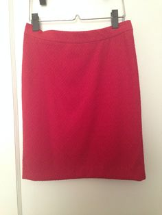 Anthropologie Maeve rust red pencil skirt, size small