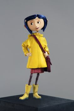 Some costumes have more prestige surrounding them such as the first costume on a production or for the main character, like Coraline's raincoat. Description from blog.fidmmuseum.org. I searched for this on bing.com/images