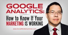 How to use Google Analytics to improve your marketing.