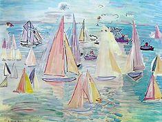 #artprint Regatta by #RaoulDufy NZ$ 45.00 http://www.prints.co.nz/page/fine-art/Art_History/1308&AFFIL=kL62qV6J