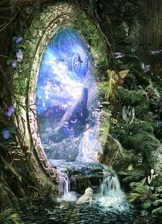 Fairy forest portal