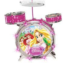 bateria acústica princesas - http://www.cashola.com.br/blog/criancas/brinquedos-para-o-dia-das-criancas-343