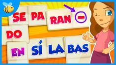 Cómo Separar en Sílabas | Videos Educativos para Niños