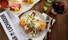 Groupon - Dine-in Parties for Two or Four at Bar Luchador (Up to 45% Off) in University. Groupon deal price: $12
