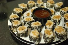 """redneck sushi, awkwardly delicious.""  