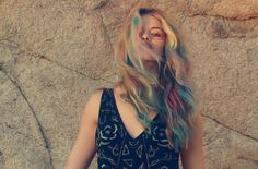 I am going to have colourful festival hair at some stage during the festival season this year and next