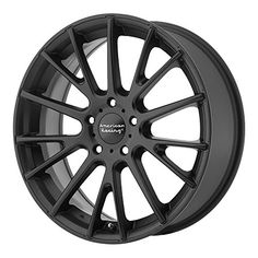 Verde Custom Wheels Protocol Black Wheel with Machined Lip 17x7//5x4.5