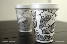 40 Amazing Coffee Cups Drawings for Inspiration