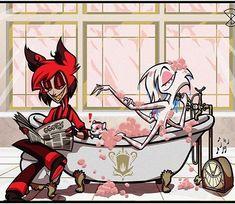 Hazbin Hotel with Sinner's Key Animes Yandere, Lolis Neko, Monster Hotel, Hazbin Hotel Angel Dust, Hotel Trivago, Alastor Hazbin Hotel, Vivziepop Hazbin Hotel, Art Base, Anime Ships