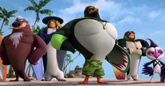 WWE Superstars Get Animated in Surf's Up 2: WaveMania Trailer #2 -- WWE Superstars John Cena, The Undetaker, Triple H, Paige and Mr. McMahon voice the Hang 5, a group of daring surfers in Surf's Up 2: Wavemania. -- http://movieweb.com/surfs-up-2-wavemania-trailer-2/