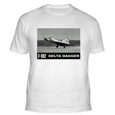 F-102 Delta Dagger Fitted T-Shirt #Tshirts #Gifts