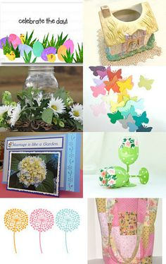 It's a Spring Thing! by Maria Plover on Etsy--Pinned with TreasuryPin.com