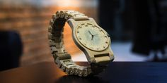 A wooden 3D printed watch created in just 2 hours!
