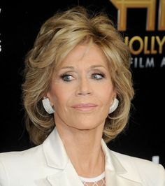 Image result for jane fonda hairstyles 2018