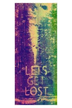 Lets Get Lost Canvas Wall Art