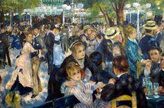 Renoir, Bal du moulin de la Galette, 1876
