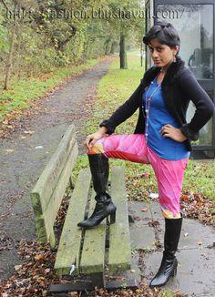 Travel Style - Leggings & Knee High Boots - #fashionblog #indianfashion #indianfashionblogger #UKFashion #Londonfashionblogger #UKFashionBlogger #fblogger #whatIwore #ootd #sotd #shoeoftheday #shoeblog #kneehighboots @onlineavenue