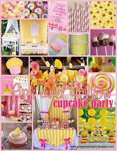 pink and yellow. - strawberry lemonade themed wedding. SO PRETTY