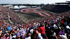 Fans' fever: The packed grandstands in Mexico's stadium section as the country makes a hugely successful F1 return - Picture by Lars Baron, Getty Images