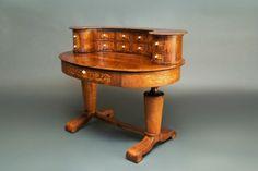 2 piece Biedermeier Desk, Danhauser style. c.1820