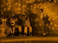 Josephine Baker video - film of stage show with period music, includes Josephine dancing, 5 minutes