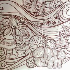 CJL designs: Winter Wilderness