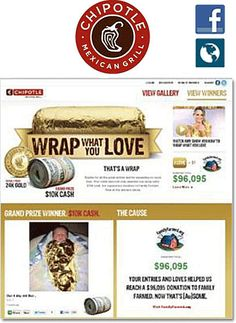 Chipotle contest case study. #marketing