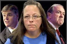 Kim Davis is just the latest in a rogues' gallery of bigoted characters championed by the right Exalting people like Kim Davis & George Zimmerman as heroes should make thoughtful conservatives think twice Atheist Agnostic, George Zimmerman, American Exceptionalism, Richard Dawkins, Republican Leaders, Free Thinker, Persecution, Pope Francis, Vatican