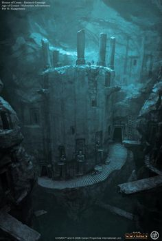 Ancient Drow Elf city Underdark story d&d pathfinder wow rpg character lg Fantasy City, Fantasy Places, High Fantasy, Fantasy Rpg, Fantasy World, Fantasy Books, Fantasy Concept Art, Fantasy Artwork, Environment Concept