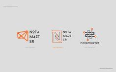 Notamazter visual identity by Ihsan Farhan, via Behance