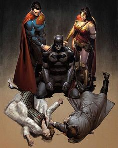 The Trinity - Comic - Trinity #3 (Rebirth) Artwork by @claymannpi after Dave Mazzucchelli