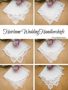 Our heirloom collection of ladies handkerchiefs are the finest handkerchiefs that we carry. Working with small, family-run European…