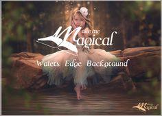 Waters Edge Background | Digital Backdrop | Digital Background | Portrait Background | Fairy Backdrop |Fairy Background | Photo Backdrop by MakeMeMagical on Etsy
