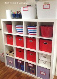 {The Organised Housewife} Lego Organising and Storage ideas