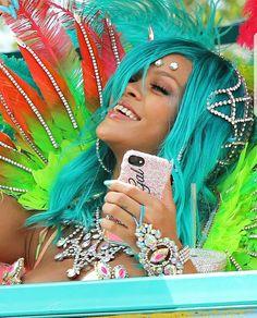 Rihanna at Barbados 2017 Crop Over Festival