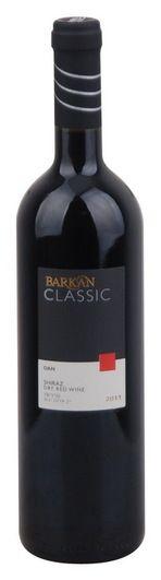 In stock - 10,24€ 2011 Barkan Wine Cellars Classic Shiraz kosher, red dry , Israel