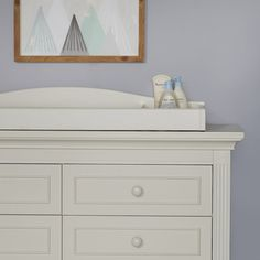 Baby Cache Montana Changing Topper - Glazed White