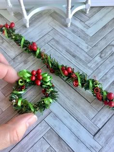 Christmas garland an