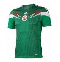 Áo Đội Tuyển Mexico 2014 Xanh
