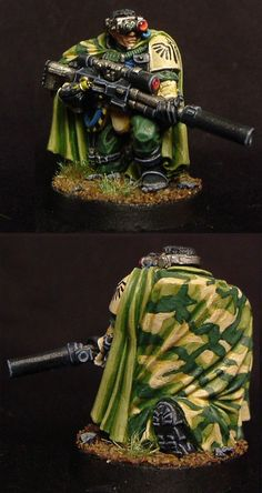 Dark Angels Scout Sniper