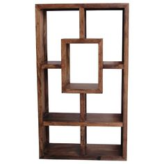 This lovely and unique shaped shelf offers seven holes for all your books, photos or ornaments. With its minimalistic style it will fit any room in a contemporary or traditional home.