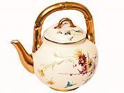 Royal Worcester China teapot.  Circa 1892