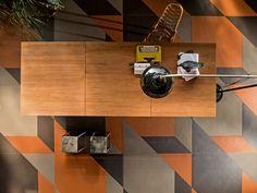 Tierras - Industrial - Triomix 3 - Ash Humus Rust - Porcelain Tile