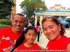 Our daughter Daniz chose to celebrate her birthday at Enchanted Kingdom in Santa Rosa, Laguna.