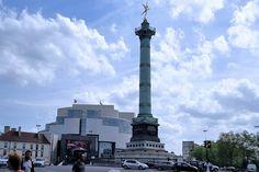 Plaza de la Bastilla, de la revolución a la ópera popular. http://www.guias.travel/blog/plaza-de-la-bastilla-de-la-revolucion-a-la-opera-popular/ #turismo #viajar  #París