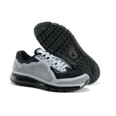 super popular 9885e 2c986 Only $85.99 plus Free Shipping! Nike Air Max 2014 Light Grey Black Mens  Shoes On