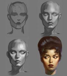 Head Series by anotherdamian.deviantart.com on @DeviantArt