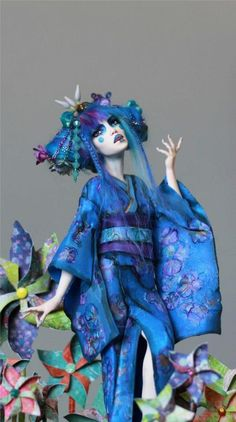 I Can't Believe You're NOT Human - Magickal Sculptures by Nicole West Fantasy Art!