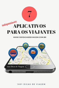 7 indispensable apps for travelers- 7 aplicativos indispensáveis para os viajantes 7 Must-have apps for travelers! See what you need on your phone before you travel Travelling Tips, Packing Tips For Travel, Travel Guide, Travel And Tourism, Solo Travel, Bucket List Destinations, We Are The World, Gap Year, Eurotrip